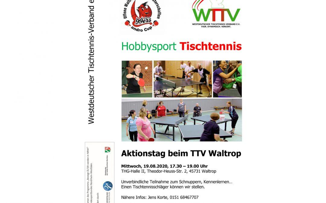 Aktionstag Hobbysport wird am 19.08. nachgeholt
