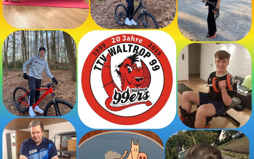 TTV Waltrop bei #trotzdemsport dabei