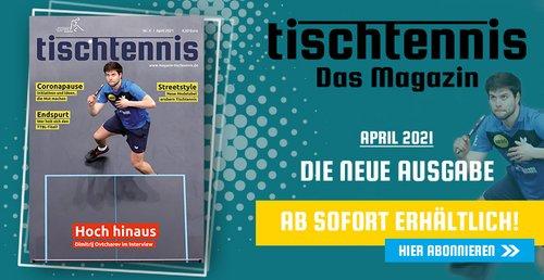 """Fachmagazin tischtennis: """"Lösungen statt Probleme"""""""