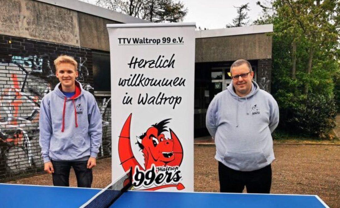 """TTV Waltrop freut sich auf den nächsten """"Bufdi"""""""