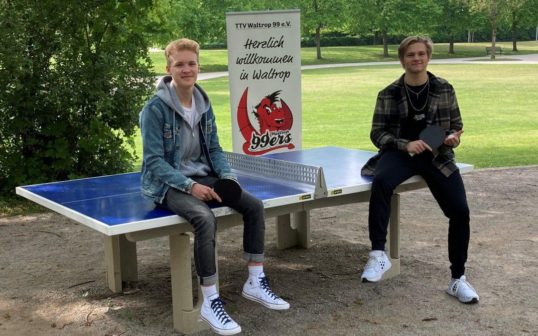 Zum 1.August wird Lukas von Felix abgelöst